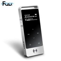 Wholesale 8gb Touch Music Player - Wholesale- Original HiFi Sound 8GB Touch Screen MP3 Music Player High Quality Lossless Alloy Metal Digital Voice Recorder FM MP3 Player