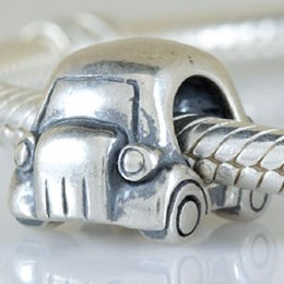 Wholesale Craft Charms Religious - Retro Gift 925 Silver Beads Jewelry Making European Craft Beads Cute Car Fit Charms Sterling Silver Pandora Bracelet Jewelry