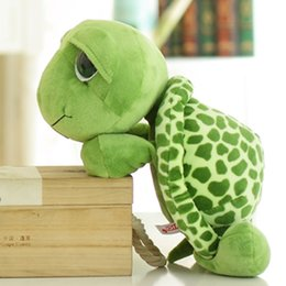 Wholesale tortoise stuffed animal - Wholesale- 2016 1pcs 18cm Cute Kawaii Green Tortoise Stuffed Animal NICI Toy High Quality Soft Doll Baby Toy