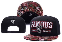 Wholesale Wholesale Strap Hat - Famous Stars And Straps Snapbacks,Men's Raised On Rap Snapback Hat Skate Street Urban,mens Fashion Adjustable Snapbacks Cap Hat ball Hat cap