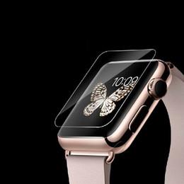 Bildschirm lcd serie online-Für Apple Uhr iwatch Serie 3 2 1 38 MM 42 MM 2.5D 9 H Gehärtetem Glas Flim Displayschutzfolie LCD KEIN Kleinpaket 300 teile / los