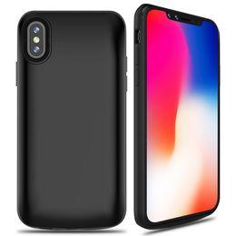 Argentina Venta caliente 6000 mAh caso del cargador para iPhone X caso del cargador de batería para apple X Funda protectora de carga para iPhone X / 10 2017 Suministro