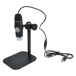 Wholesale Usb Mini Microscope - Wholesale- Portable 50X-500X USB Digital Microscope Endoscope Mini Electronic Magnifier Micro Camera Video W 8LED XP VISTA WIN 7