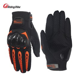 Wholesale Motorbike Glove S - Wholesale- Riding tribe motorcycle gloves motorbike motocross racing gloves moto guantes de motocicleta racing luvas de motociclista gants