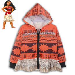 Wholesale Funny Costume Kids - Child Boys spring autumn Hoodie Halloween Funny Costume Jacket Moana Maui Cosplay Fancy Zip Sweatshirt Cool Clothes Gift For Kids