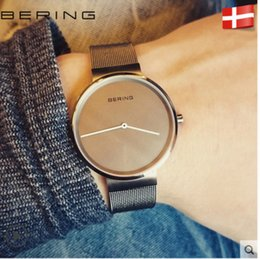 Wholesale Brand Luxury Watches Women - 2017 Luxury Brand BERING Mens Watches Fashion Women Watches Quartz Clock Casual Men Wristwatches Gift Female Clock Relogio Montre Femme