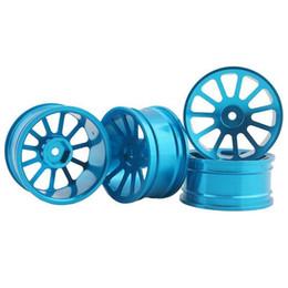 Wholesale Hpi Drift Wheels - RC Aluminum Wheel 4pc D:52mm W:26mm Fit HSP HPI 1:10 On-Road Drift Car Rim 125B