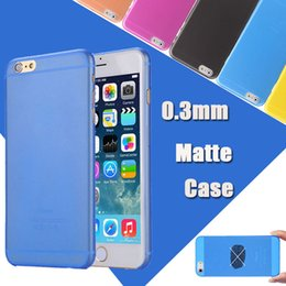 Wholesale Iphone 4s Cases Slim - 0.3mm Ultra Thin Slim Colorful Matte Frosted Transparent Flexible Soft PP Cover Case For iPhone X 8 7 Plus 6 6S 5S 5 4 4S Samsung S8 Note 8