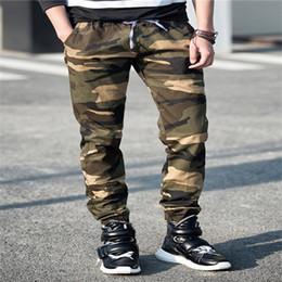 Wholesale Sport Camo Cargo Pants - Camo Pants Camouflage Jogger jogging Pants Men Casual Hip Hop Camo sport Harem Pants Pantalones military cargo Trousers FREE SHIPPING