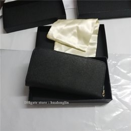 Wholesale Interior Design Yellow - Promotional Discount Original Design High quaity genuine leather women wallet purse handbag brand designer + box luxury famous P198