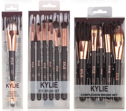 Wholesale Make Up For Eyes - HOT new Kylie Jenner 1pcs 2pcs 4pcs 5pcs 6pcs Makeup brushes set foundation powder blush eye lip makeup tools for make up