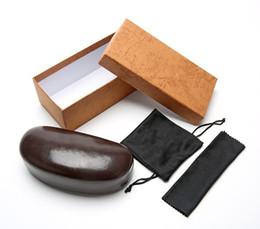 Cassa dura degli occhiali da sole di caso della scatola degli occhiali da sole del gancio della chiusura lampo di caso cassa nera di caso degli occhiali di sole di sport del metallo di plastica trasporto libero da