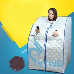 Wholesale Fir Sauna Detox - Portable FIR Far Infrared Sauna blanket Slimming Room Full Body Lose Weight body detox Spa equipment