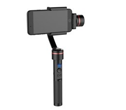 "Wholesale Axis Mounts - S2 Smooth-C+ Multi-function 3 Axis Handheld Steady Gimbal PTZ Camera Mount for Smart Phones within 7"" Screen"