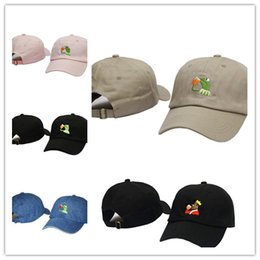 2020 cappello tè kermit Wholesale Kermit Tea Hat The Frog Sipping Drinking Tea Baseball Dad Visor Cap Emoji New Popular 6 Panel polos caps hats for men and women cappello tè kermit economici