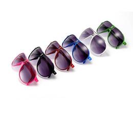 Wholesale baby toy mirrors - Kids Sunglasses Baby Boys Girls Fashion Brand Designer Sunglasses Children Sun Glasses Beach Toys UV400 Sunglasses 10pcs Lot Free Shipping