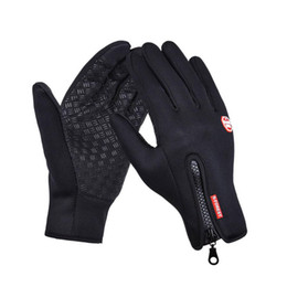 Wholesale Gloves Mobile Phone - Newest Touch Screen Riding Gloves For Mobile Phone For iPhone iPad Winter Warmer Glove Men Women Outdoor Sports Cycling Hiking (1 pair)