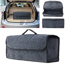 Wholesale rear seats - Hot Car Seat Back Rear Travel Storage Organizer Holder Interior Bag Hanger Accessory Gray Free Shipping