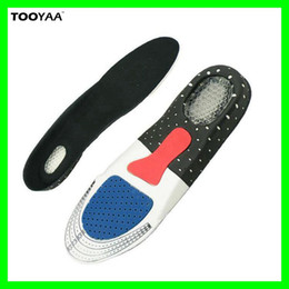Wholesale Gel Arch Support Inserts - Unisex Shoes Accs Free Size Orthotic Arch Support Shoe Pads Running Gel Insoles Insert Cushion for Men and Women