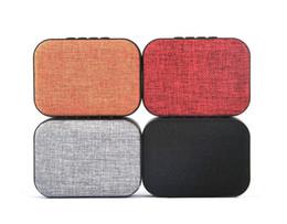 2019 oratori altoparlanti Mini panno bluetooth altoparlante wireless tessuto altoparlante carta di tf usb radio fm per smart phone tablet pc