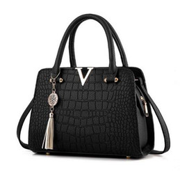 Wholesale Bag Hand Black - Women Handbags Famous Designer Brand Bags Luxury Ladies Hand Bags and Purses Messenger Shoulder Bags