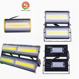 Wholesale Outdoor Casting - High Power 200W Flip COB Ultrathin Floodlights 20000lm AC110V 220V Module LED Cast Light IP66 for Tunnel Gas Station and Outdoor Lighting