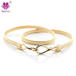 Wholesale Gold Chain Belts For Women - Gold Elastic Chain Belts For Women Designer Belts Female Silver Metal Chain Belt Ladies Cintos Femininos BL-727