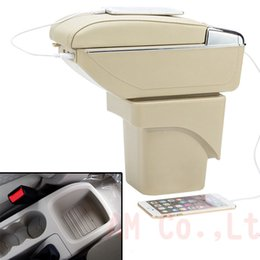 Wholesale Ford Focus Car Accessories - car Armrest Storage Center Console accessories for For Ford Focus 2 armrest box central Store content box