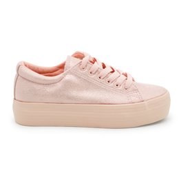 Wholesale Cheap Wholesale Women Shoes - LH003 pink lady PU lace-up flat leisure shoes cheap comfortable casual outdoor women shoes