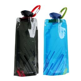 Récipient d'eau réutilisable portatif de sac de l'eau de bouteille d'eau pliable ? partir de fabricateur