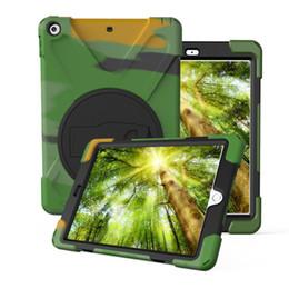 Canada Couverture de tablette pour iPad Mini 4 / Air 2 / Pro de 9,7 pouces, caisse d'écran rigide en silicone antichoc robuste pour enfants avec armure de sécurité pour iPad 2 Offre