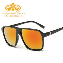 aaeb493197 Wholesale-Mens Square Sunglasses Men Women Mirror Sports Eyewear Sun Glasses  for Women UV400 gafas oculos de sol Feminino masculino oculos sol feminino  ...