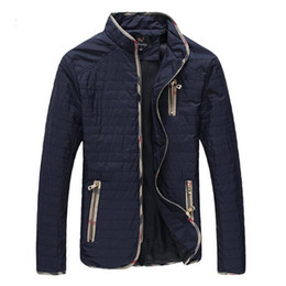 Wholesale Big Collar Coats - Wholesale- New Arrival Fashion Men Spring Autumn Jacket Casual Coat Thin Handsome Breathable Outdoors Outwear Big Size M-7XL