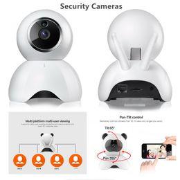 Wholesale Wireless Recording Cctv - Indoor Home Security IP Cloud Camera Wireless Smart Wifi Audio Record Surveillance Baby Monitor HD Mini CCTV Camera