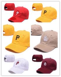 Wholesale Cap Pirates - Newest Colorful MLB Hat Embroidered Pittsburgh Pirates Baseball Cap for Men Design Women Hat with Sun Protection Away Sweat Valentine Gift