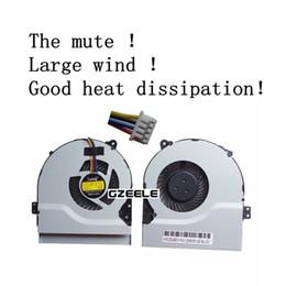 Wholesale Laptop Cpu Cooling Fans - Wholesale- NEW FOR ASUS Y481 Y481C Y481E Y481SL X552 X552V laptop cpu cooling fan cooler 5V 2.25W