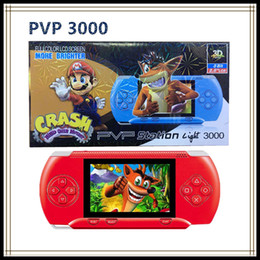 Wholesale Pmp Player - PVP3000 Game controller 8 Bit for Built in 280 games Support FC PXP PMP Radio TV Out Music Mini Portable Game Player controllers