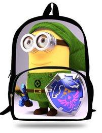 Wholesale Despicable Purple - 16-inch Mochilas Infantil Kids School Backpack Minions Bags Despicable Me Boy School Bags Backpack Children Girl Cartoon