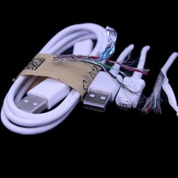 qualität s3 telefon Rabatt Hohe Qualität 1M 1.2M 1.5M Geflochtene + Eisenkopf Micro 5 Pin USB Daten Sync Ladekabel für Samsung Galaxy S3 S4 S6 S7 für Android-Handy