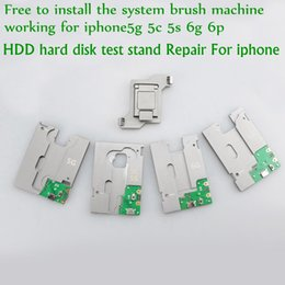 Wholesale Flash Memory Ic Chip - MJ HDD hard disk test stand Repair For iphone 5G 5S 5C 6G 6P SE NAND Flash Memory CHIP IC Motherboard fixture Tester