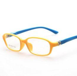 cc95aaa2f1 Al por mayor-3-8 años de edad niños lindos ópticos marco llano Eyewear 10  colores estilo encantador niñas niños niños gafas Marcos 8805Oculos Acetato