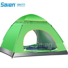 Wholesale Red Fiberglass - Ultra-light 1.7KG double layer bivvy tent 3-4 people camping tent for hiking trekking backpacking fishing tourist naturehike Free DHL Fedex