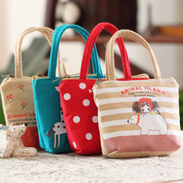 Wholesale Small Kids Canvas Bags - Wholesale- Women Mini Coin Purse Pouch Small Purse Cute Cartoon Girl Children Wallet For Kids Coins Bags For Girls Clutch Kawaii Bag lq-018