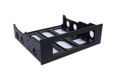 "Wholesale Hub Drive - 3.5"" to 5.25"" Drive Bay Computer Case Adapter Mounting Bracket USB Hub Floppy"
