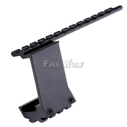 Wholesale Rail Mount Accessories - Picatinny Top Bottom Pistol Handgun Scope Mount for Sights Laser Light Hunting Accessory Weaver Rail