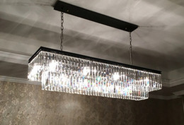 1920s Odeon Clear Glass Fringe Square 3 Tier Chandelier