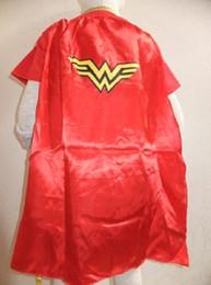 Wholesale Superwomen Halloween Costumes - halloween for kids Girls Wonder Woman Dress Halloween For Kids Role-Playing Superwoman Party Cosplay Costume Short Sleeve Skirts