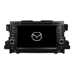 Wholesale Mazda Cx Gps - Free shipping Android 5.1 Car DVD player for Mazda CX-5 with 7inch HD Screen ,GPS,Steering Wheel Control,Bluetooth, Radio