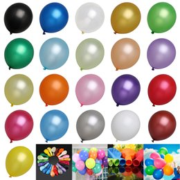 12 дюймов 50 шт. Набор латексные шары партия день рождения событие свадебные украшения 21 цветов от