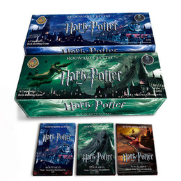 Wholesale Big Funny Cards - 408 PCS SET Movie Harry Potter Cards Game , Funny Board Game English Edition , Collection Cards For Children Gift